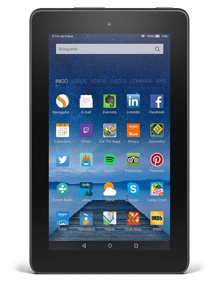 Amazon Fire - Un tablet por menos de 60 euros - Opinión