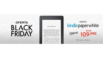 BLACK FRIDAY: Nuevo Kindle Paperwhite por 109.99 euros