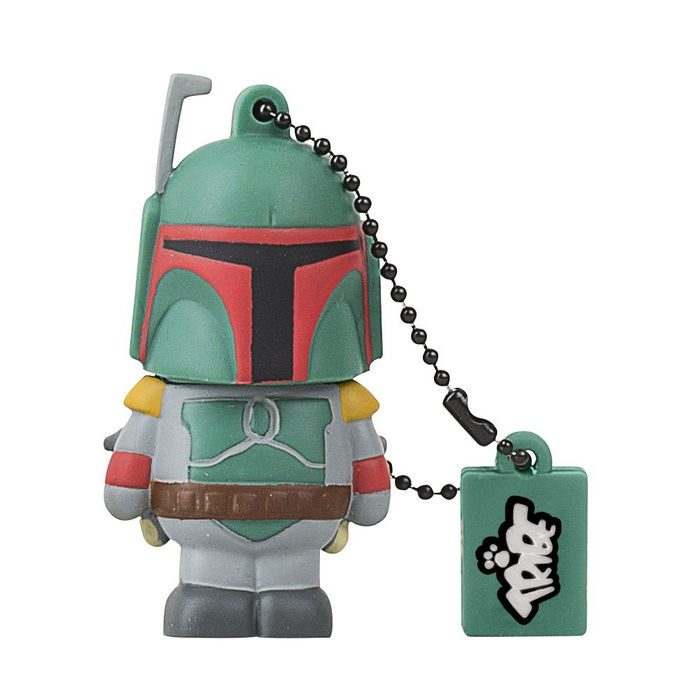 Tribe Star Wars Pendrive - Memoria USB Flash Drive 2.0, diseño Boba Fett