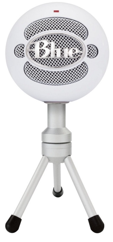 Micrófono para grabar audio: Blue Microphones Snowball iCE