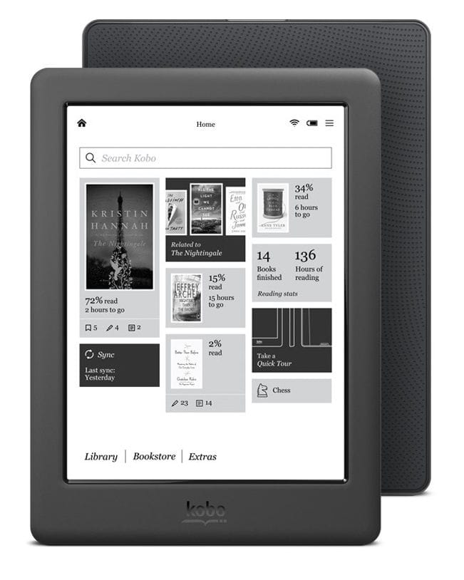Kobo GLO HD – E-Reader de 6""