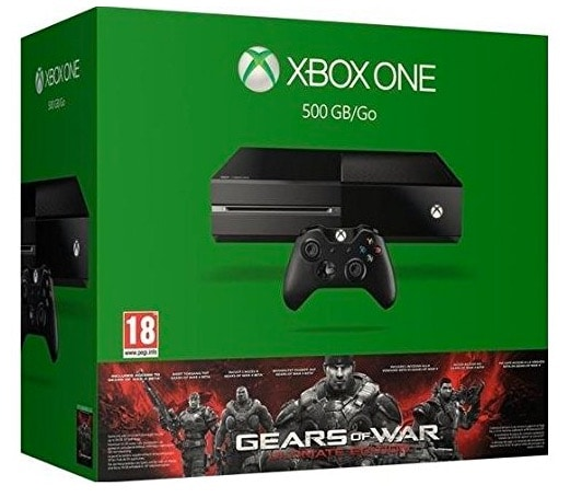 Xbox One - Consola + Gears Of War: Ultimate Edition