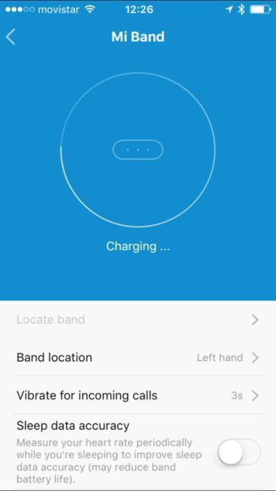 Aplicación Xiaomi Mi Fit
