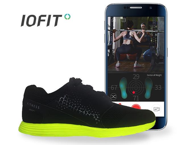 IOFIT, las zapatillas inteligentes que quieren ser tu entrenador personal