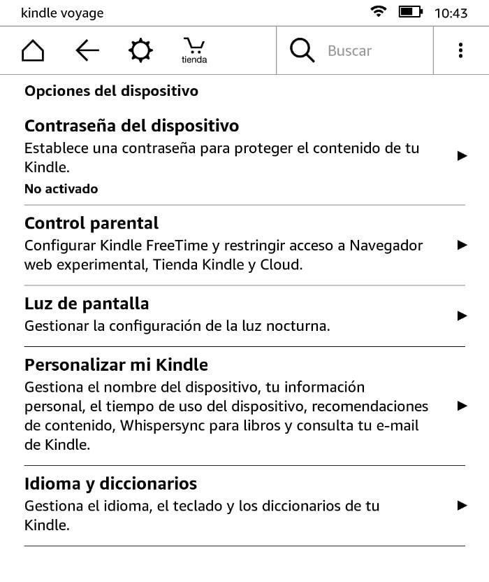 Cómo cambiar la nueva pantalla de inicio del eReader Kindle