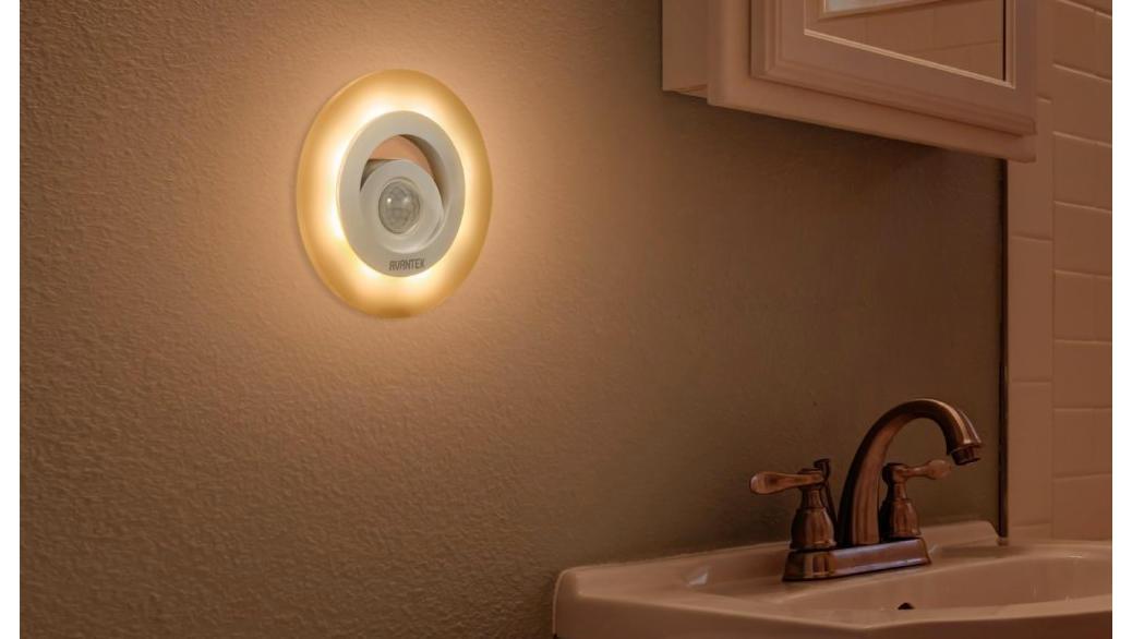 Avantek elf r luz led con sensor de movimiento y luz - Sensor de movimiento para luz precio ...
