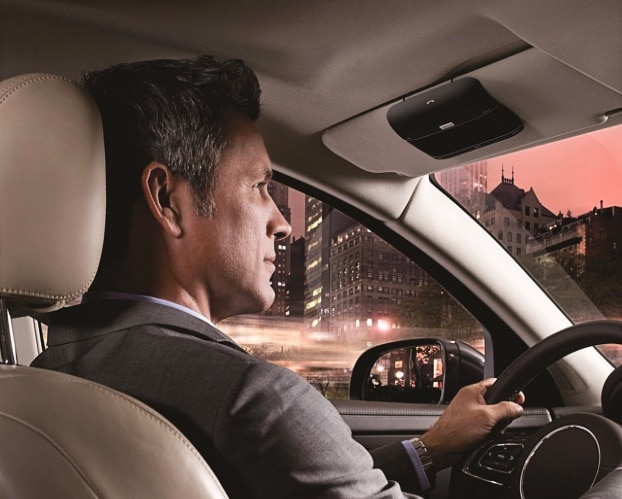 Jabra Freeway - Altavoz Bluetooth para coches
