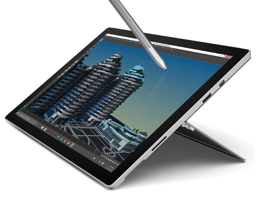 Microsoft Surface Pro 4 rebajada de precio por menos de 900 euros