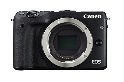 -Canon EOS M3 - Cámara réflex digital de 24.7 Mp