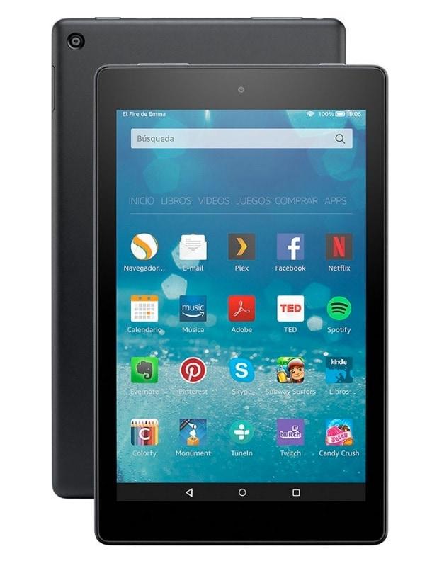 """Los 3 mejores tablets por menos de 100 euros de 2019: Amazon Fire 8"""""""