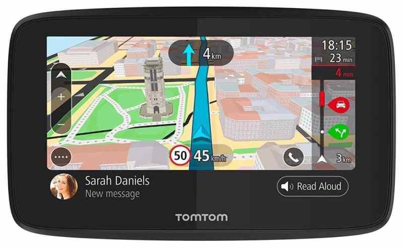 """TomTom GO 520 World - Navegador GPS (5"""" pantalla táctil, flash, batería, encendedor de cigarrillos, USB, interno)"""