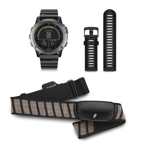 Garmin Fénix 3 HRM - Reloj GPS con pulsómetro HRM-Run