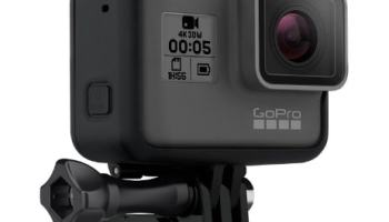 GoPro Hero5 Black - Cámara de 12 MP (4K, 1080 p, 720 p, WiFi)
