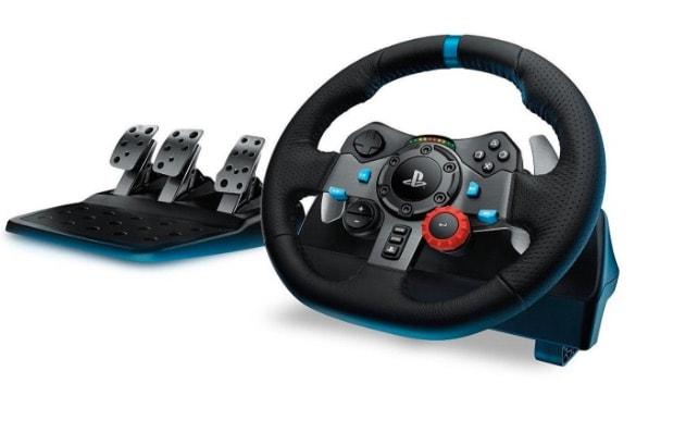 Logitech G29 - Volante para simulación de carreras (compatible con PS4, PS3 y PC) con pedales incluidos