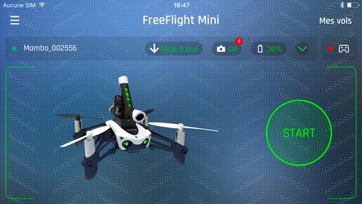 FreeFlight Mini Por Parrot