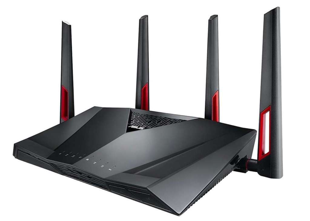 ASUS RT-AC88U - Router gaming AC3100 Doble-Banda Gigabit