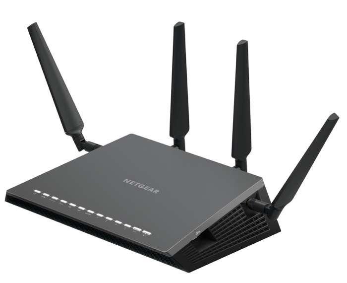 Netgear Nighthawk D7800-100PES - Módem router gaming X4S con tecnología WiFi AC2600 Dual Band