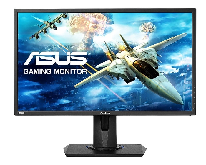 "Mejores monitores gamer:ASUS VG245H -Monitor gaming de 24"" Full HD Free-Sync"