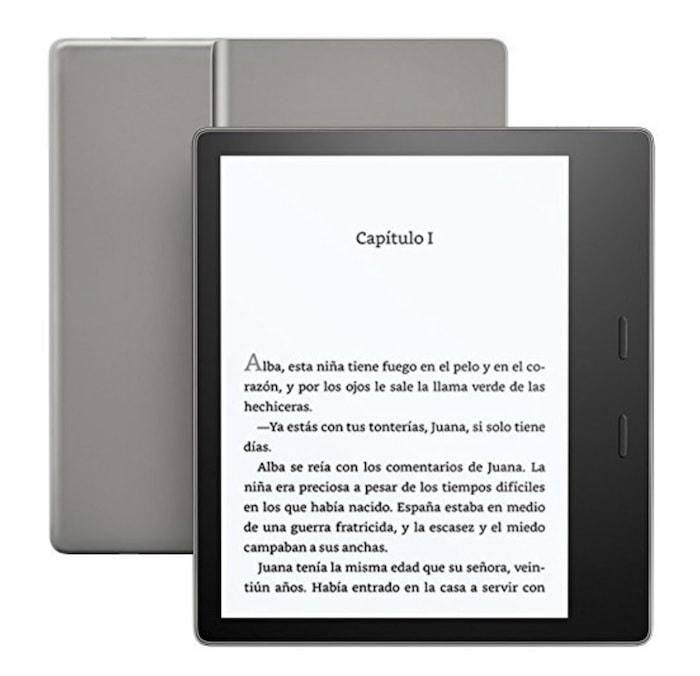 """Nuevo e-reader Kindle Oasis, resistente al agua, pantalla de 7"""" (17,7 cm) de alta resolución (300 ppp), 8 GB"""