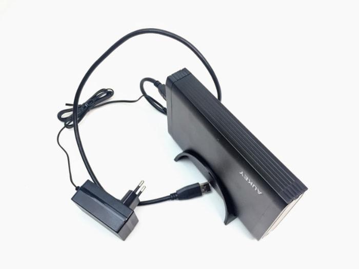 Carcasa para disco duro con USB 3.0 de Aukey DS-B01