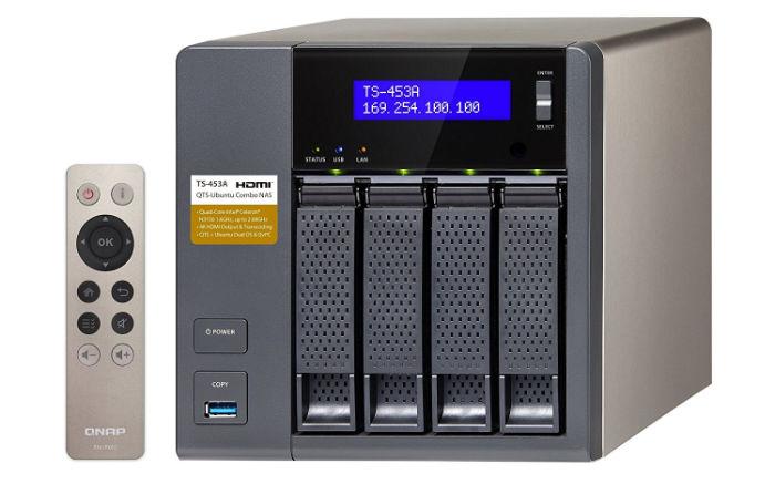 QNAP TS-453A Dispositivo NAS