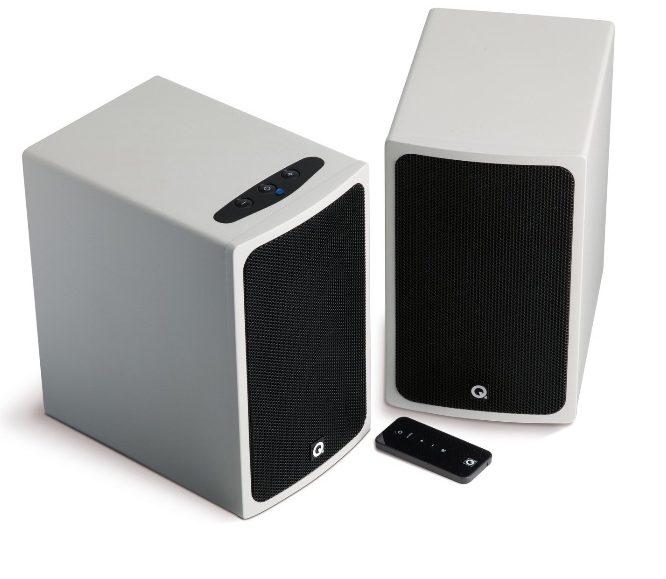 Q Acoustics BT3 - Altavoces estéreo bluetooth