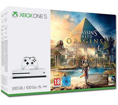 Xbox One - Consola S 500 GB +Assassin's Creed Origins