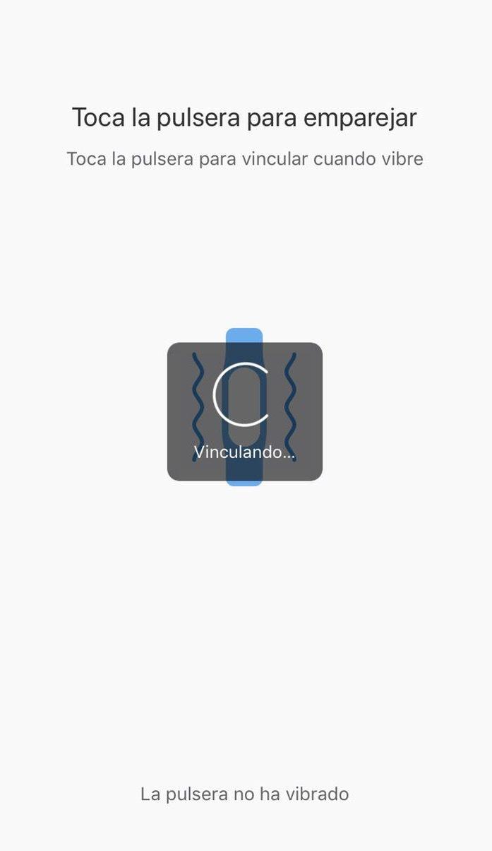 Xiaomi mi Band 3 instrucciones configuración 5