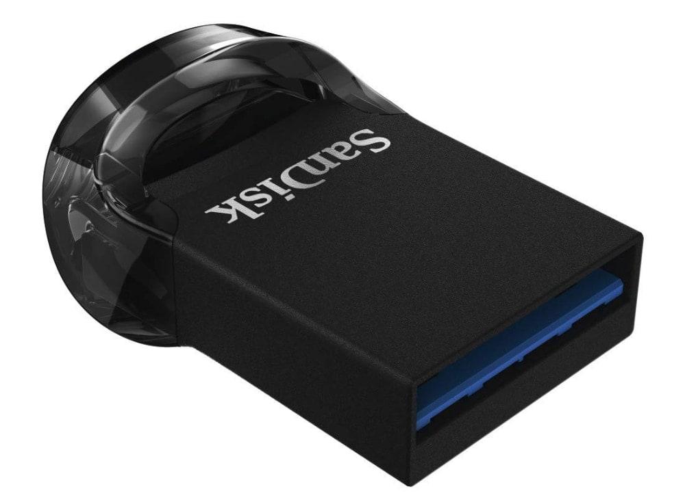 Memoria Flash USB 3.1 SanDisk Ultra Fit de 128 GB con hasta 130 MB/s de Velocidad de Lectura