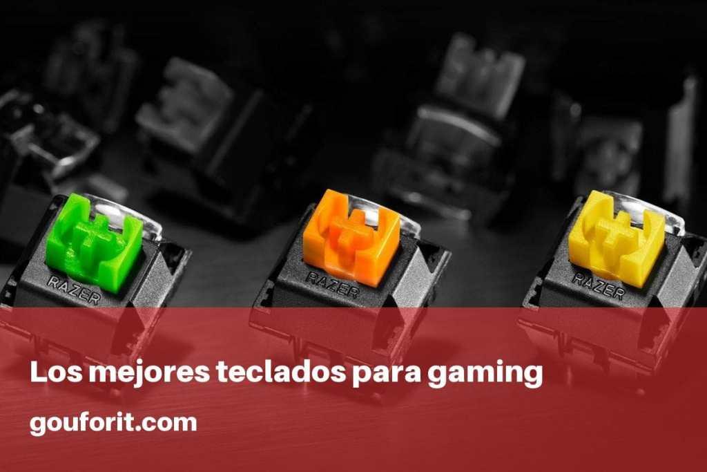 Los  mejores teclados para gaming por calidad precio