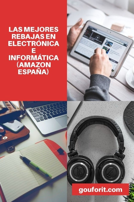 TOP REBAJAS ELECTRONICA EN AMAZON ESPAÑA DE 2019