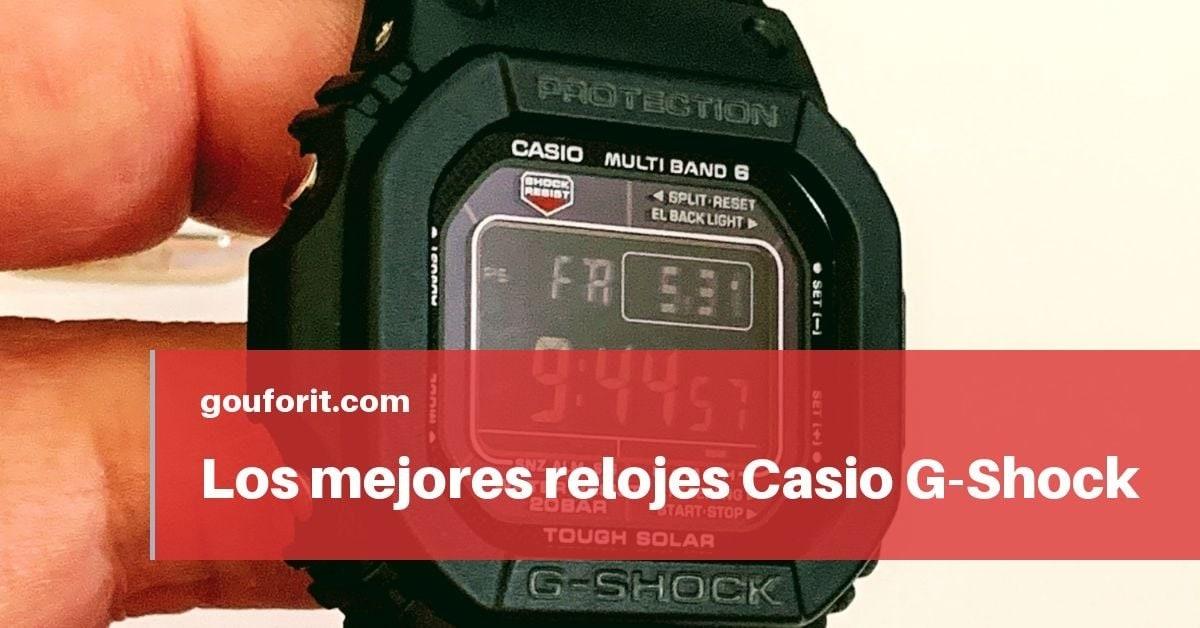 Los mejores relojes Casio G-Shock