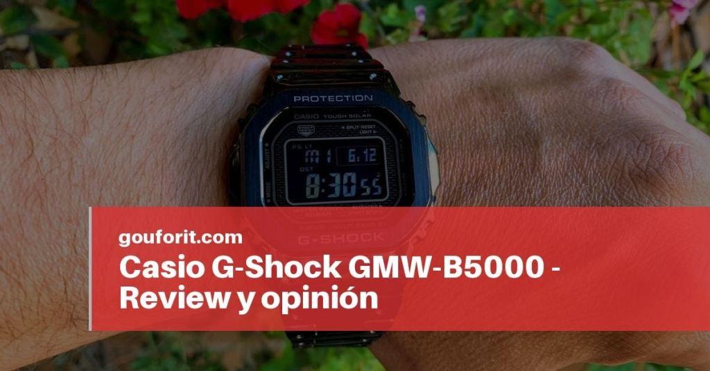 ed60fd69c Casio G-Shock GMW-B5000 - Review y opinión