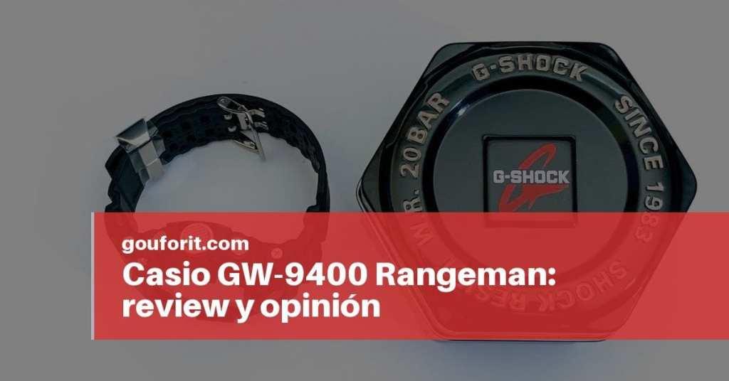 Casio GW-9400 Rangeman: review y opinión