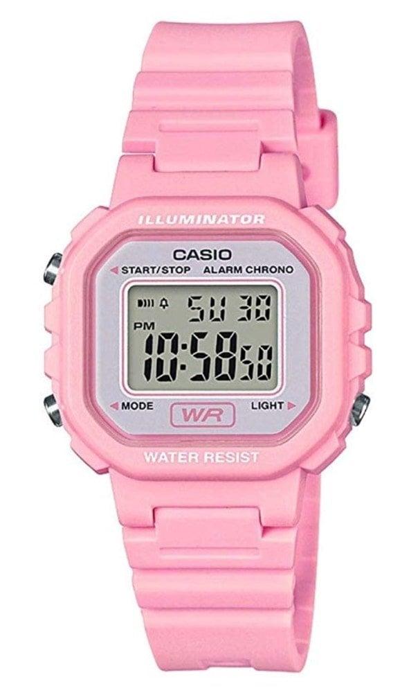 Casio LA-20WH-4A1EF: reloj con el tamaño perfecto para niños y niñas