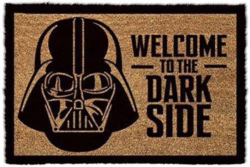 """Felpudo de La Guerra de las Galaxias """"Welcome To The Dark Side"""""""