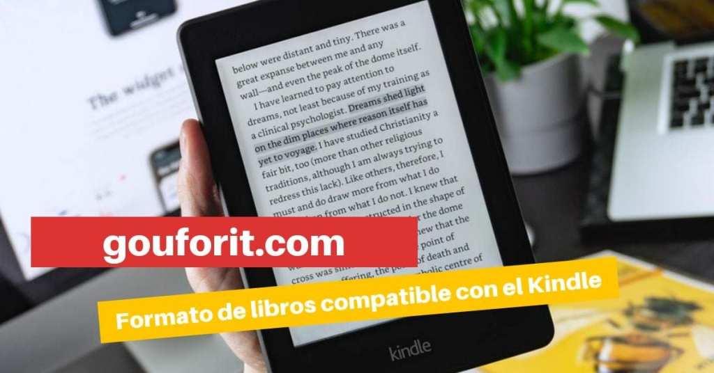 ¿Qué formatos de ebook soporta el Kindle? ¿Podemos leer ebooks EPUB o PDF?