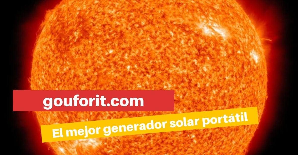 El mejor generador solar portátil