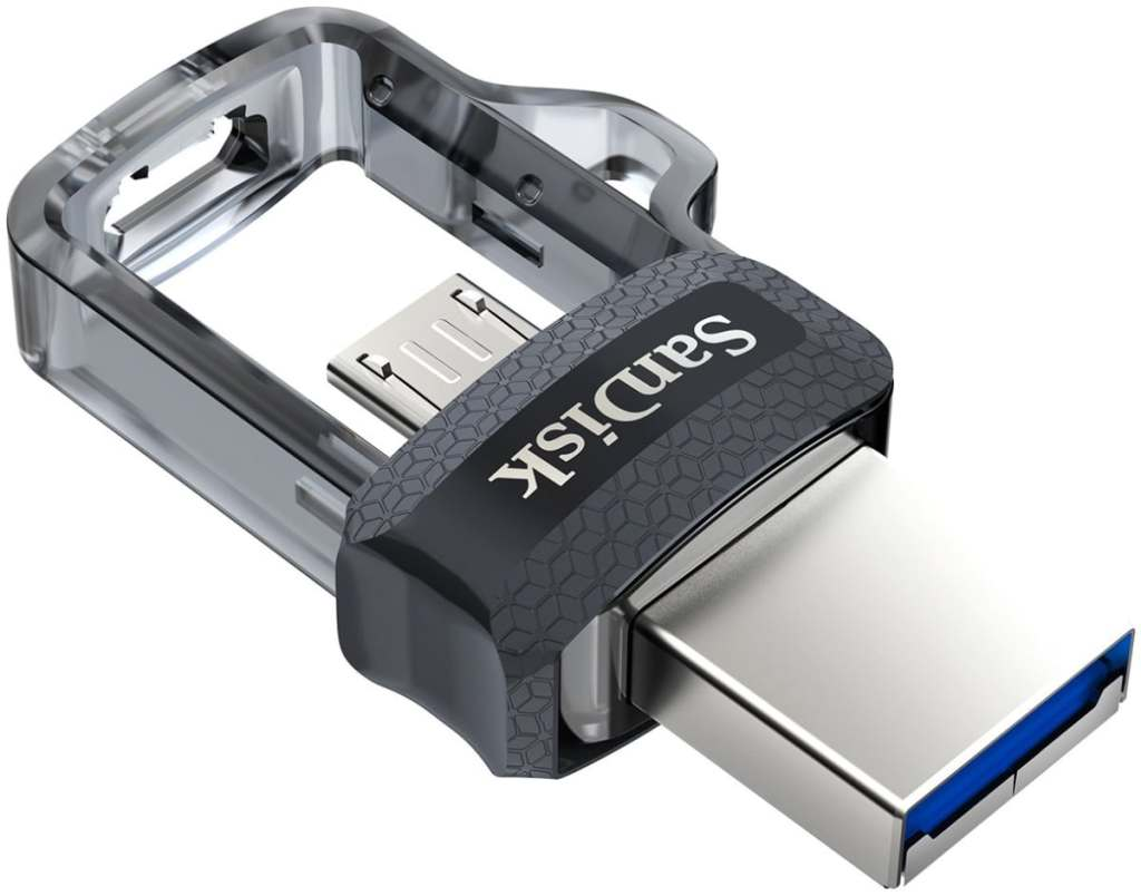 Memoria Flash USB SanDisk Ultra Dual m3.0 de 32GB