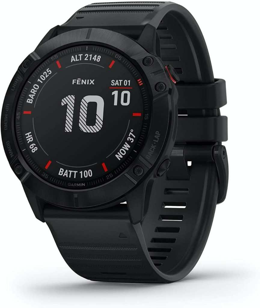 Garmin Fenix 6X Pro - Reloj inteligente con GPS