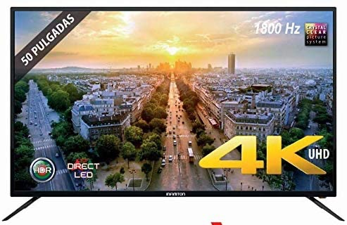 "TV LED INFINITON 50"" INTV-50 4K UHD"