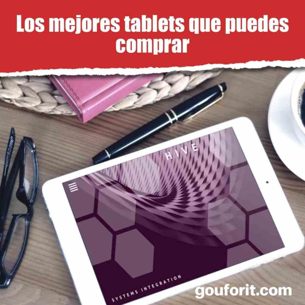 mejores tablets que puedes comprar