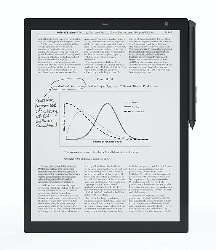 "Sony DPT-RP1 Digital Paper System 13.3"" 16GB"