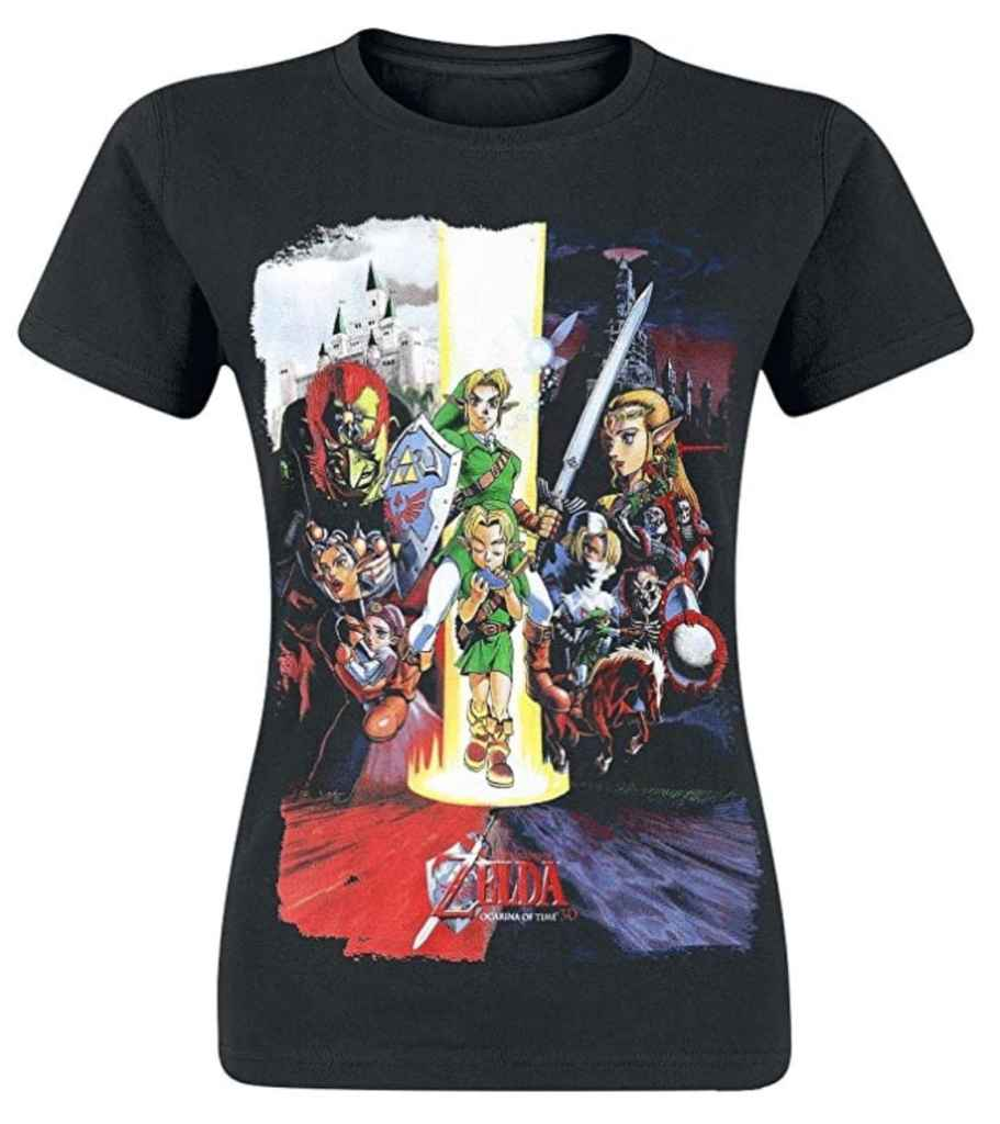 Camiseta para mujer Nintendo Legend Zelda Women's Ocarina of Time Cast
