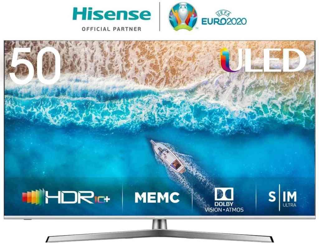 Hisense H50U7BE - Smart TV ULED 50' 4K Ultra HD con Alexa Integrada