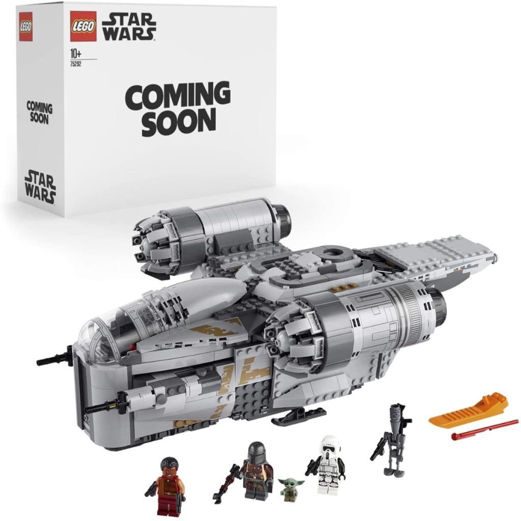 LEGO Star Wars - The Razor Crest - Juguete de construcción de nave espacial inspirado en la serie Mandalorian