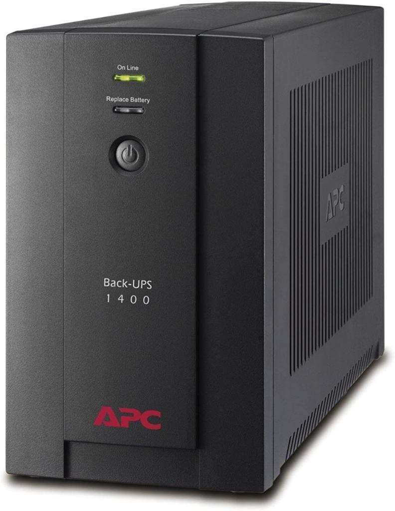 APC BX1400U-GR Back-UPS BX - Sistema de alimentación ininterrumpida SAI 1400VA