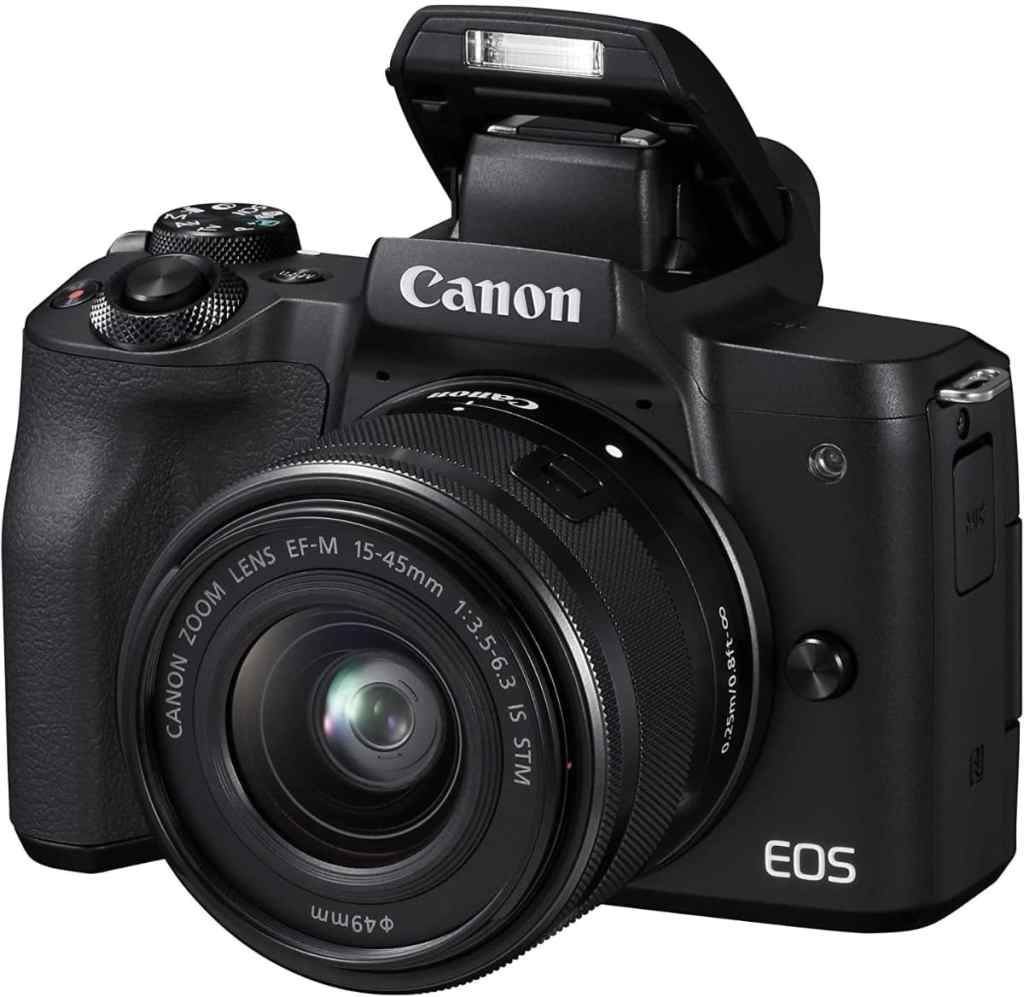 Canon EOS M50 - Cámara EVIL barata y perfecta para grabar vídeo