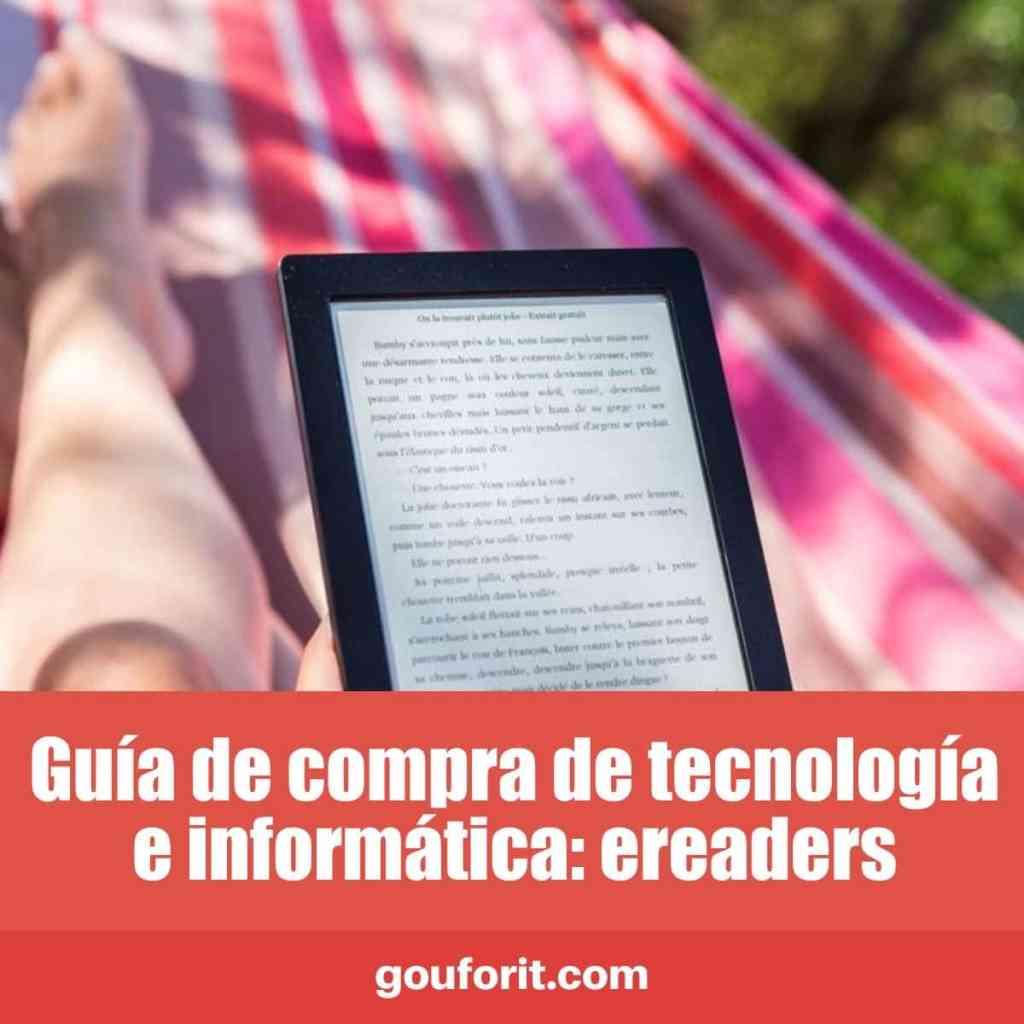 Guía de compra de tecnología e informática: ereaders