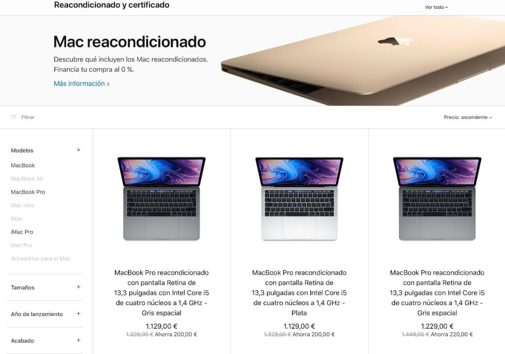Mac reacondicionado